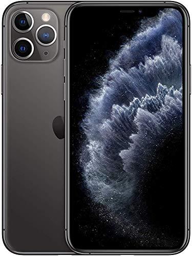 """Smartphone 6.5"""" Apple iPhone 11 Pro Max (Retina, A13, 4 Go de RAM, 512 Go, gris sidéral) - reconditionné Comme Neuf (vendeur tiers)"""