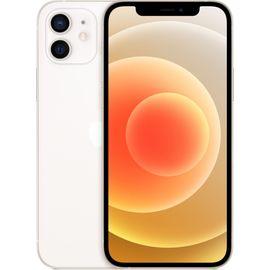 """Smartphone 6.1"""" Apple iPhone 12 Blanc - 64 Go (+97,50€ en Rakuten Points)"""