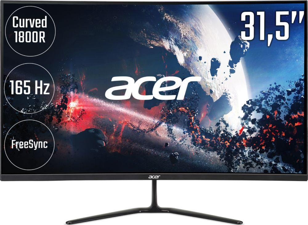 """Ecran PC 32"""" Acer ED320QRPbiipx - Full HD, VA, 165Hz, 4 ms (+6,30€ en RP) - vendeur Boulanger"""