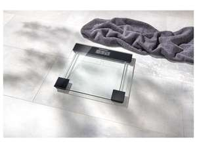 Pèse-personne en verre avec écran LCD SilverCrest
