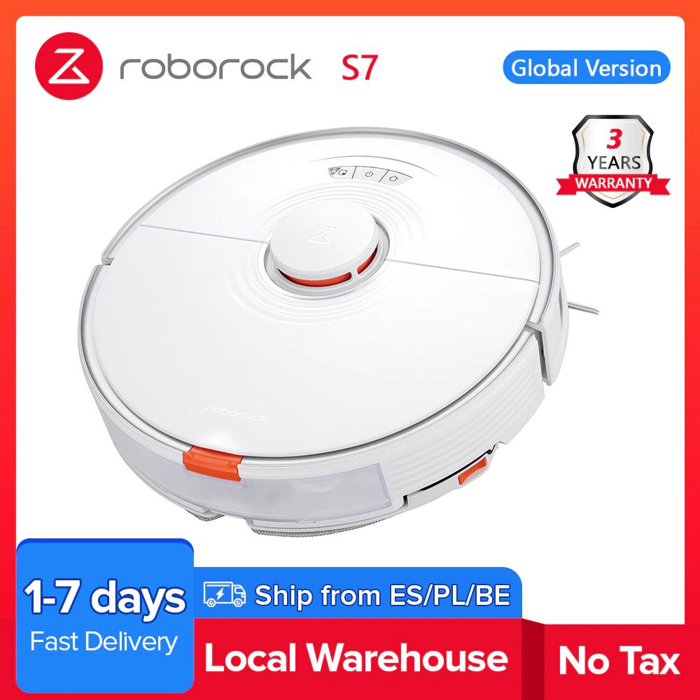 Aspirateur robot Roborock S7 (entrepôt ES, 447.64€ via HAPPYFR16)