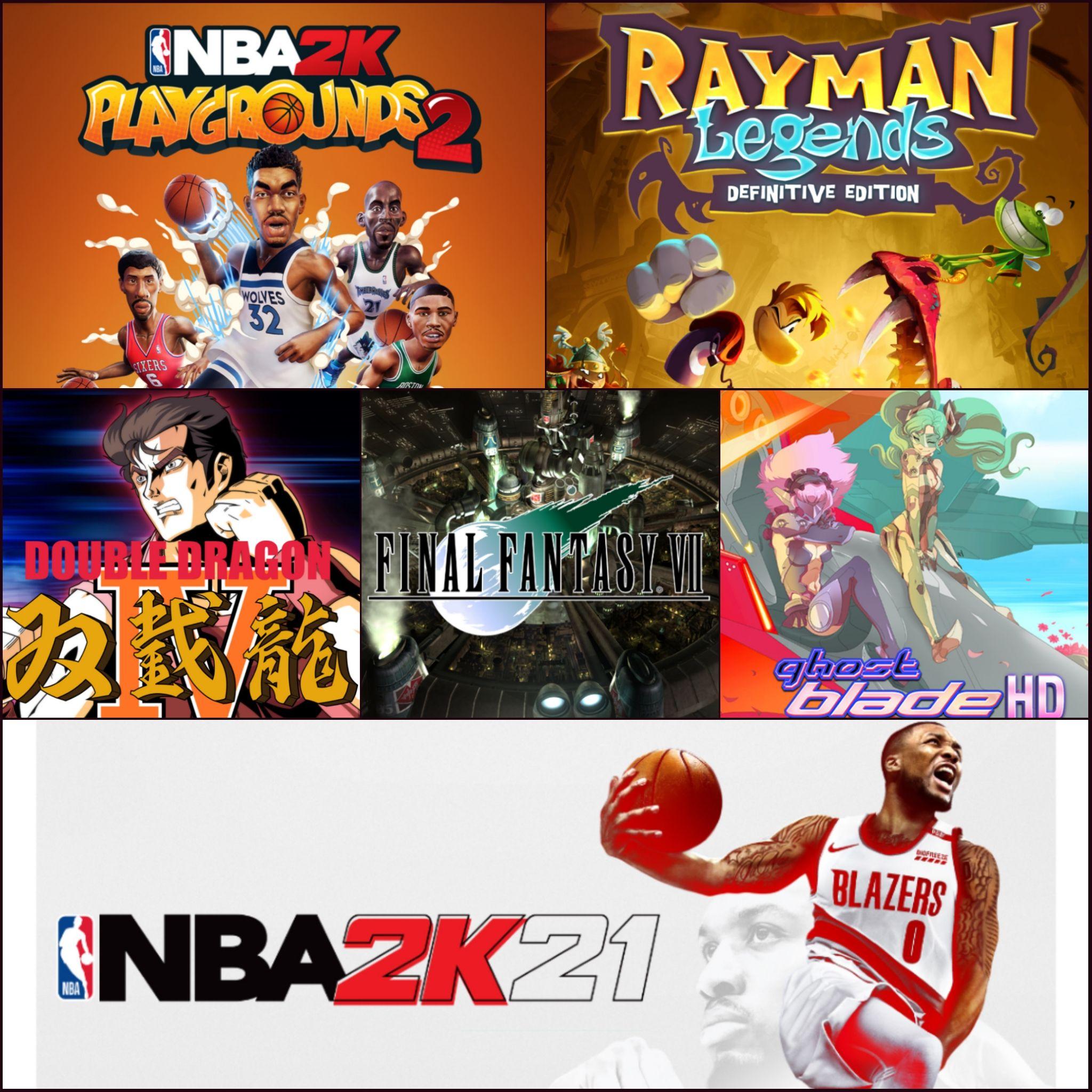 Sélection de Jeux Nintendo Switch (Dématérialisé eShop HK) - ex : Rayman Legends Edition Definitive