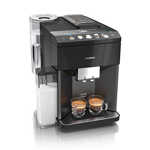 Machine à expresso automatique avec broyeur à grains Siemens EQ.500 Classic Black TP503R09
