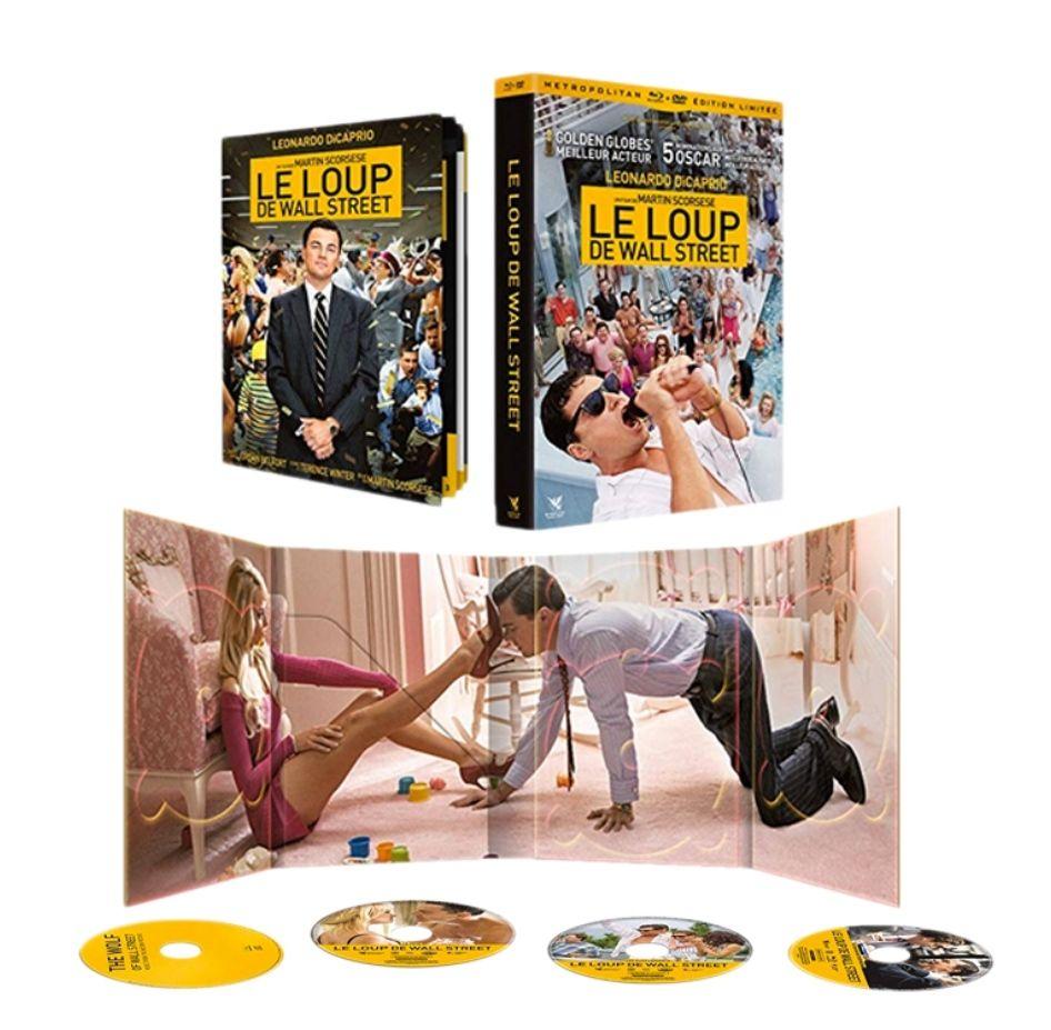 Blu-Ray + DVD Le Loup de Wall Street - Édition Limitée