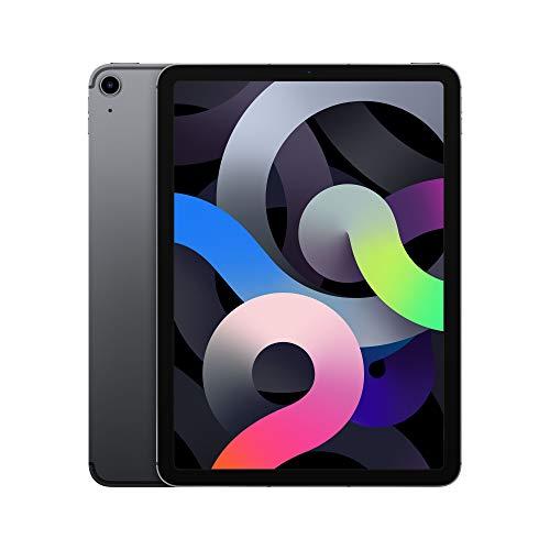 "Tablette tactile 10.9"" Apple iPad Air 4 - full HD Retina, A14, 4 Go de RAM, 64 Go, 4G + Wi-Fi, gris sidéral"