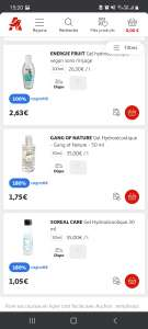 Gel Hydroalcoolique Soreal Care - 30Ml (via 1.89€ sur la carte) - Arras (62) / Sete (34)