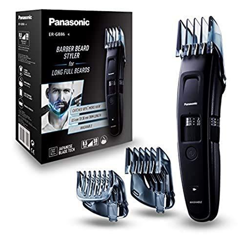 Tondeuse à barbe Panasonic ER-GB86-K503 - 3 sabots, de 0.5 à 30 mm