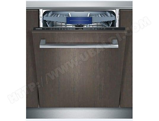 Lave vaisselle tout intégrable Siemens SN658X00ME - 14 Couverts, 41 dB