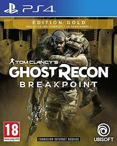 Ghost Recon Breakpoint : Édition Gold sur PS4 (Vendeur Tiers)