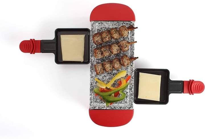 Appareil à raclette pour 2 personnes Livoo DOC156R - 350W