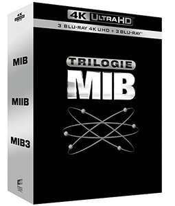 Coffret Blu-Ray 4K Men In Black - Trilogie