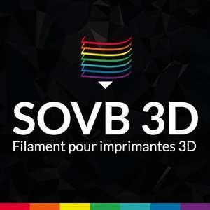 40% de remise sur toute la gamme PLA (sovb3d.fr)