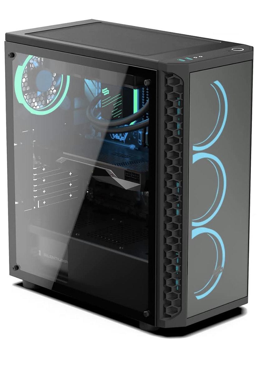 PC Gaming Sedatech Advanced Watercooling - Intel i9-9900KF, GTX 1650, 16 Go RAM, 500Go SSD NVMe, 2To HDD, sans OS (Vendeur tiers)