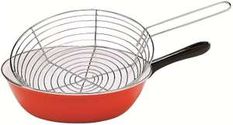 Poele à friture Baumalu - 26 cm, tout feux dont induction