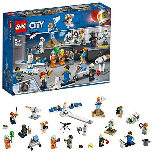 Lego City 60230 - Ensemble de figurines sur la recherche et le développement spatiaux