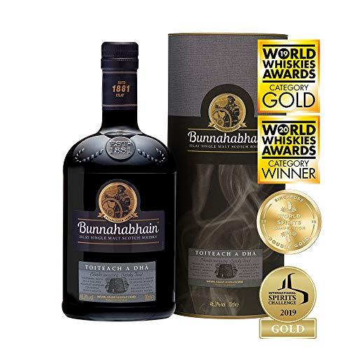 Whisky Bunnahabhain Islay Toiteach à Dha Single Malt Whisky - 700 ml