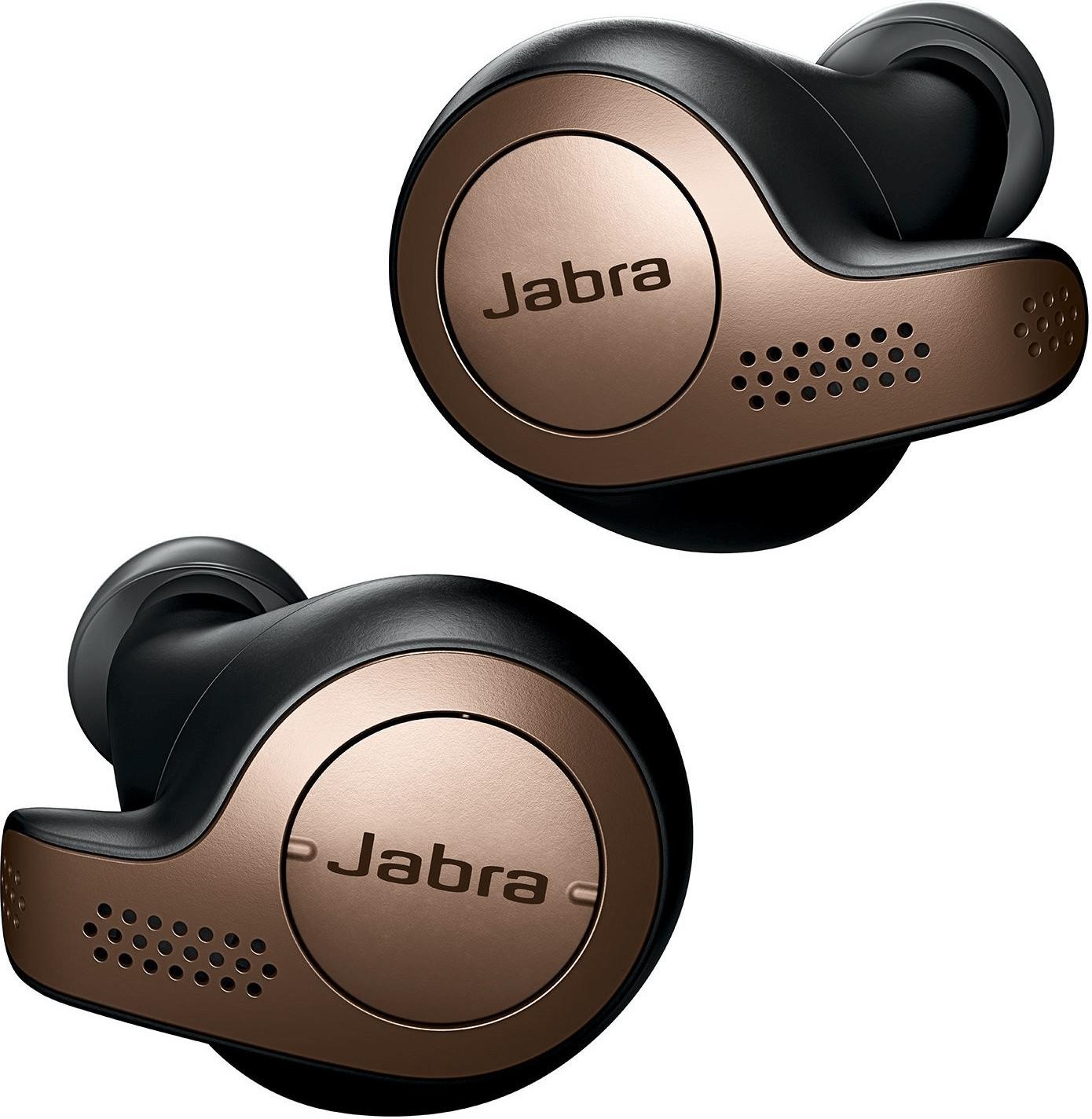 Écouteurs intra-auriculaires sans-fil Jabra Elite 65t - coloris cuivre ou titane