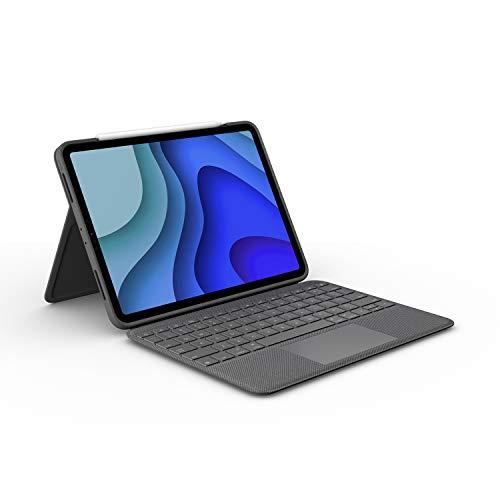"""Étui de protection avec clavier pour tablette tactile 11"""" Apple iPad Pro Logitech Folio Touch"""