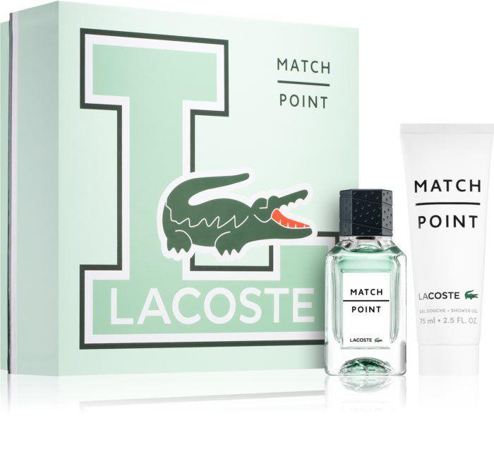 Coffret Lacoste Match Point - eau de toilette (100 ml) + déodorant (150 ml)