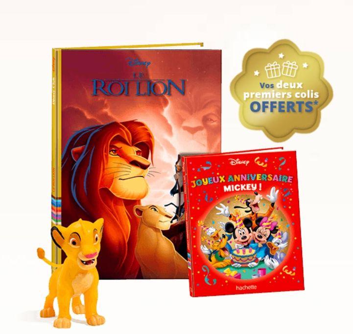 2 Livres Disney + 2 Livres Mickey + 2 Figurines (sans engagement, Frais de port inclus)