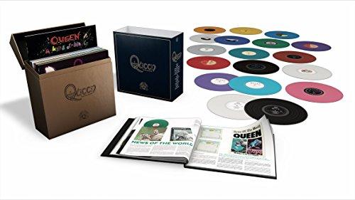 Coffret Vinyle intégrale pour Queen - Edition collector limitée 18 Vinyles LP Coloré