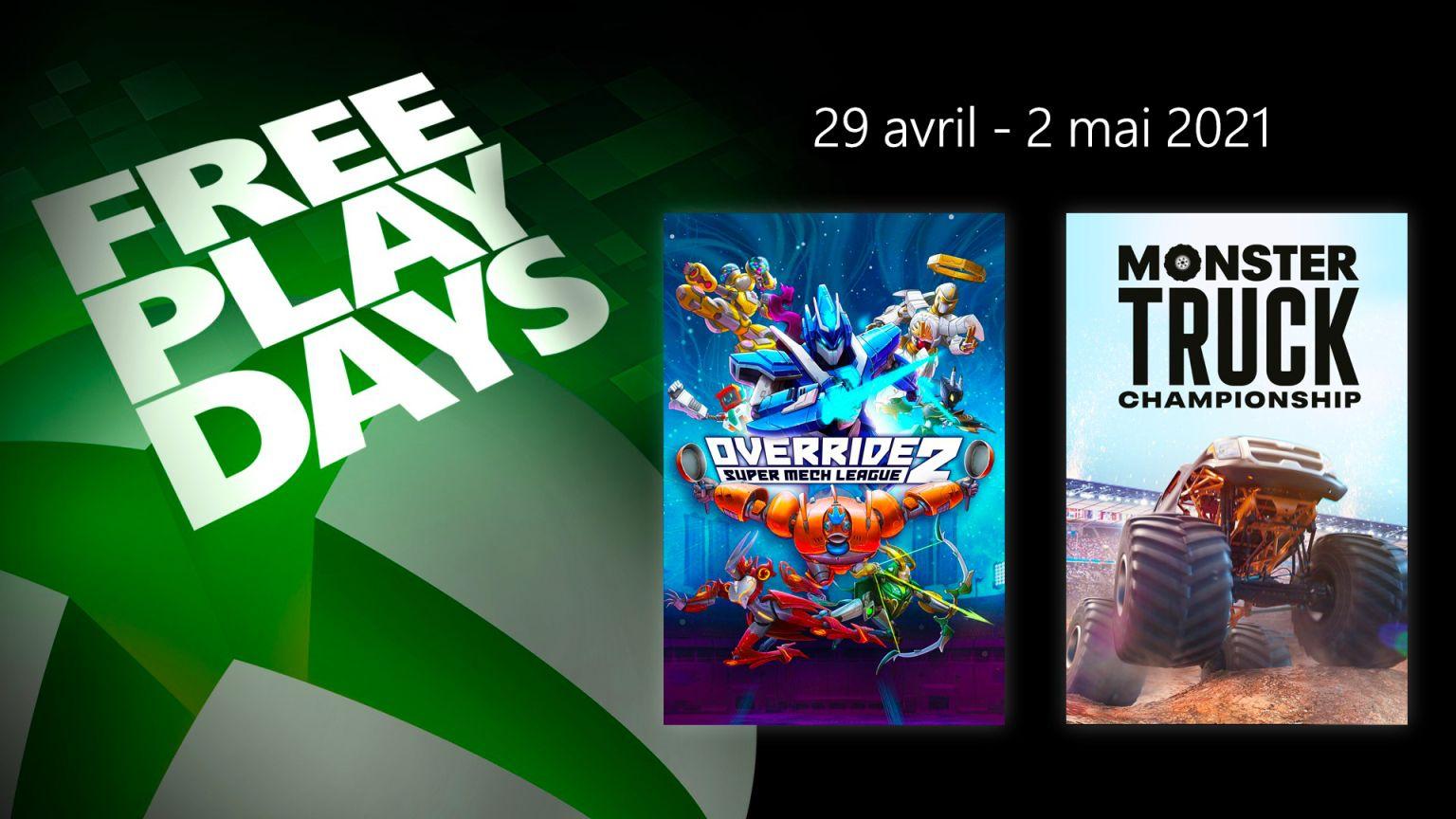 Override 2: Super Mech League et Monster Truck Championship jouable gratuitement sur PC, Xbox One, Series (Dématérialisé)