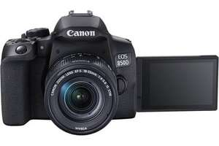 Appareil photo reflex Canon EOS 850D + Objectif 18-55 IS + Batterie offerte