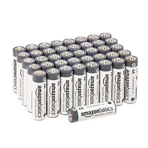 Lot de 40 piles alcalines Amazon Basics - AA (LR6)