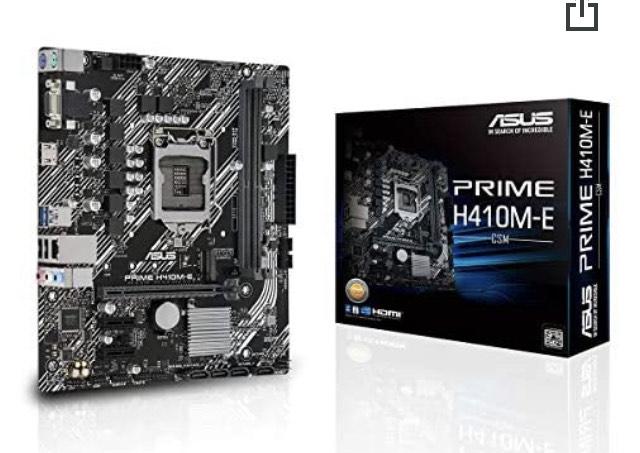 Carte Mère Asus Prime H410M-E - Socket LGA 1200