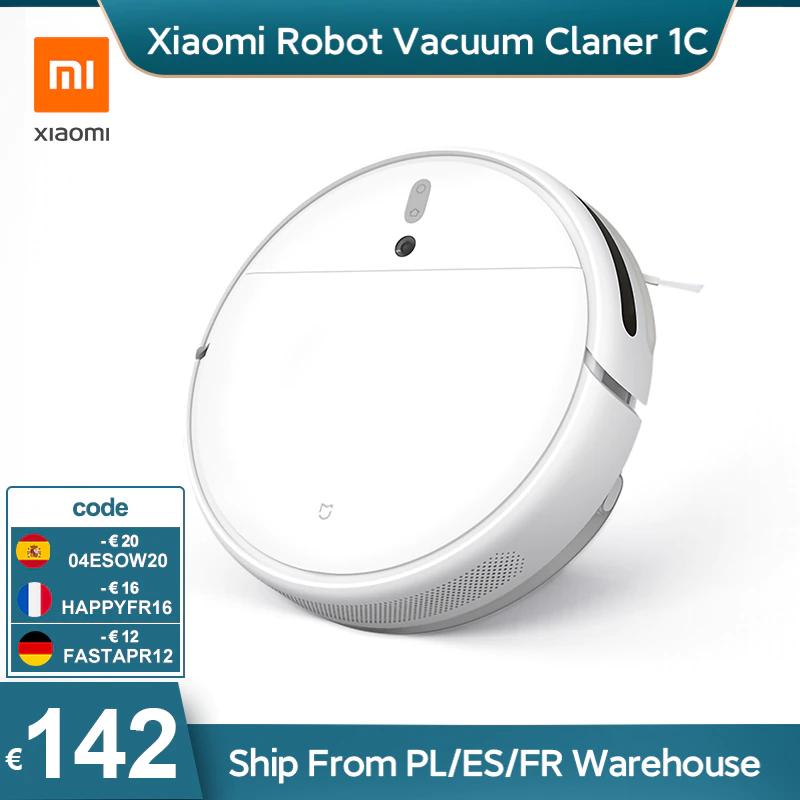 Aspirateur robot Xiaomi MiJia 1C (entrepôt FR, 143.78€ via HAPPYFR15)
