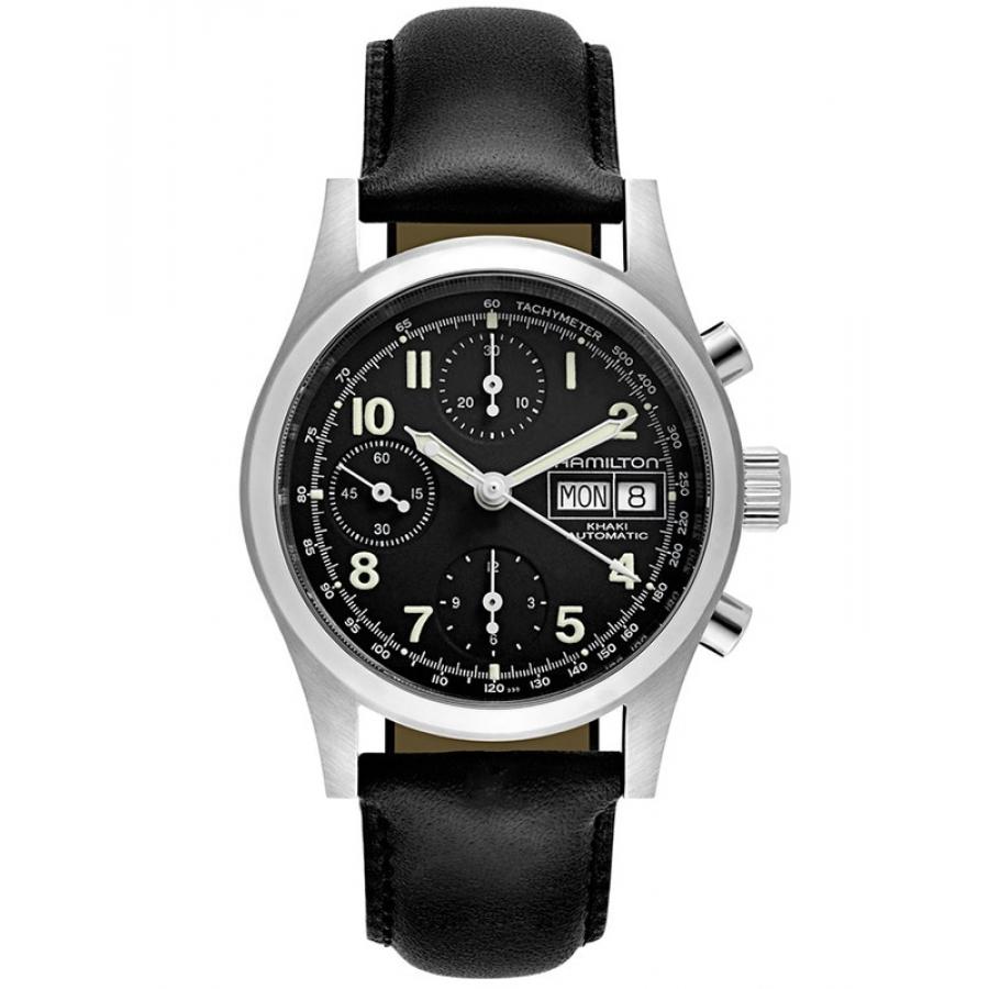 Montre Chronographe Automatique Hamilton H71416733 - 38mm, Valjoux 7750 (Taxes et frais de livraison inclus)