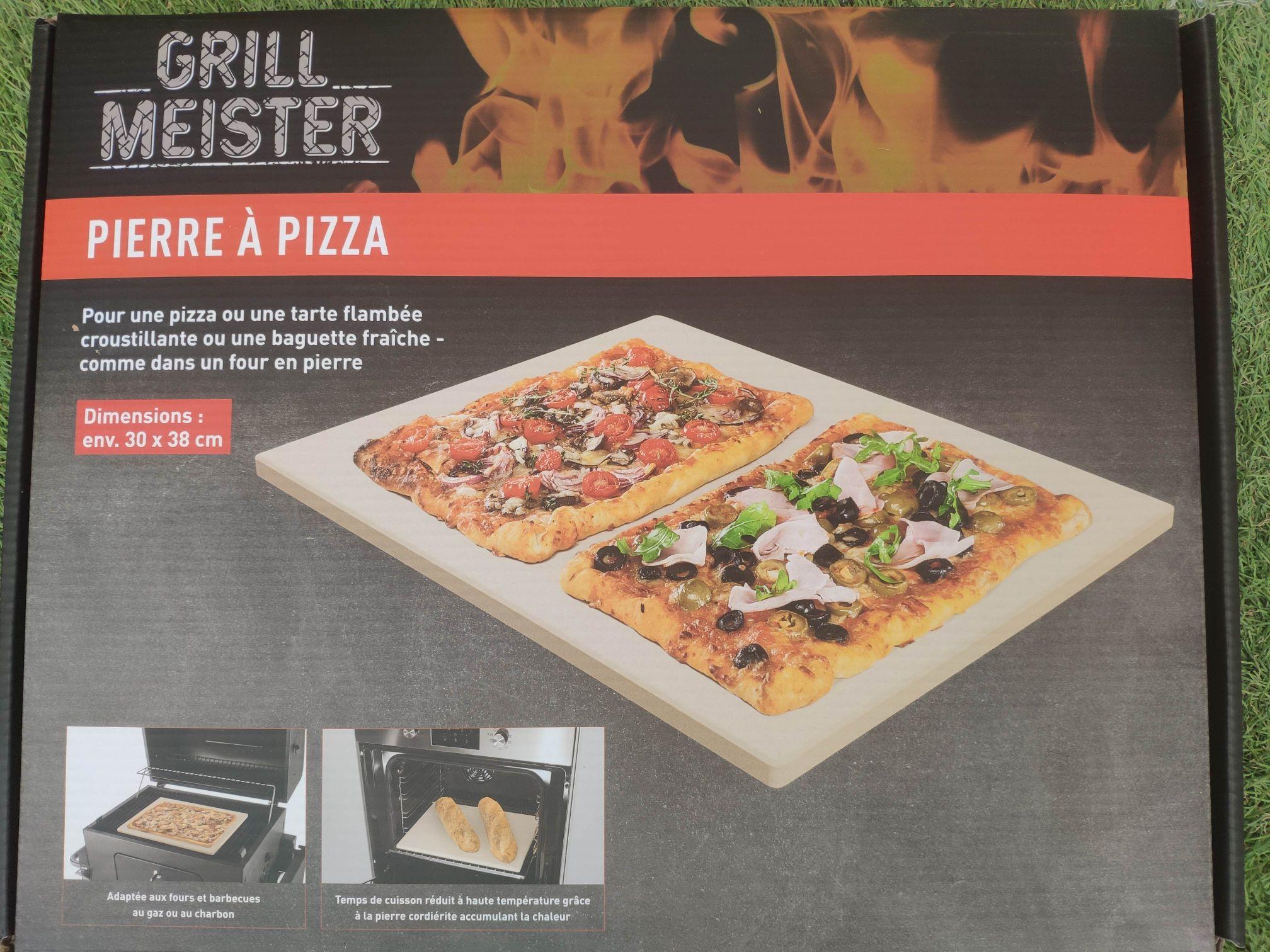 Pierre à pizza pour four et barbecue Grill Meister - Chambly et Persan (95)