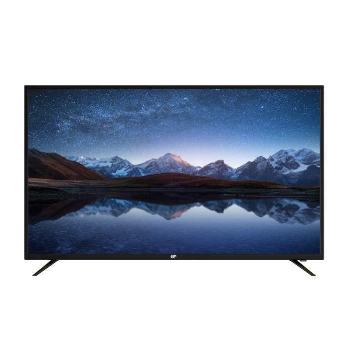 "TV 55"" Continental Edison CELED55120B2 - LED, 4K UHD"