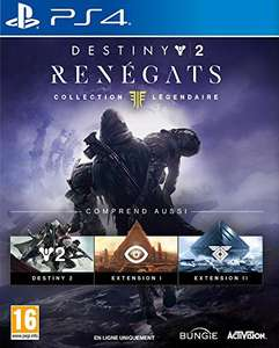 Jeu Destiny 2 : Renégats - Collection Légendaire sur PS4 (Vendeur tiers)