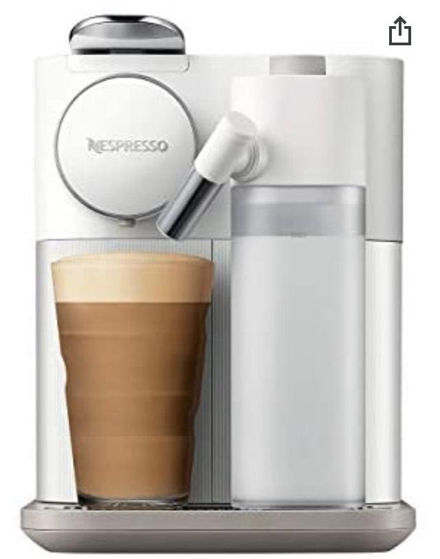 Machine à café De'Longhi Nespresso Gran Lattissima - Blanc.