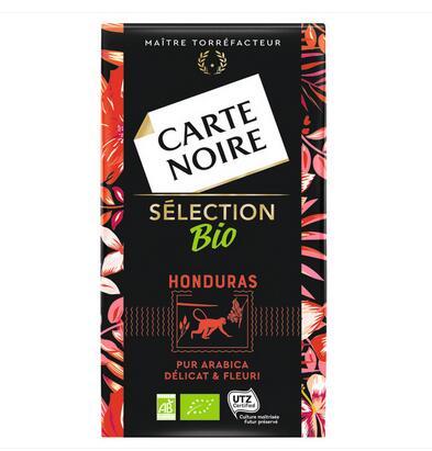 Paquet de Café Moulu BIO Carte Noire - 250g, Différentes Variétés (via BDR)