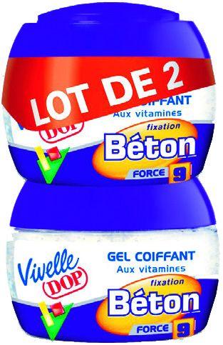 Lot de 2 Gels coiffants Vivelle dop - 2x150ml