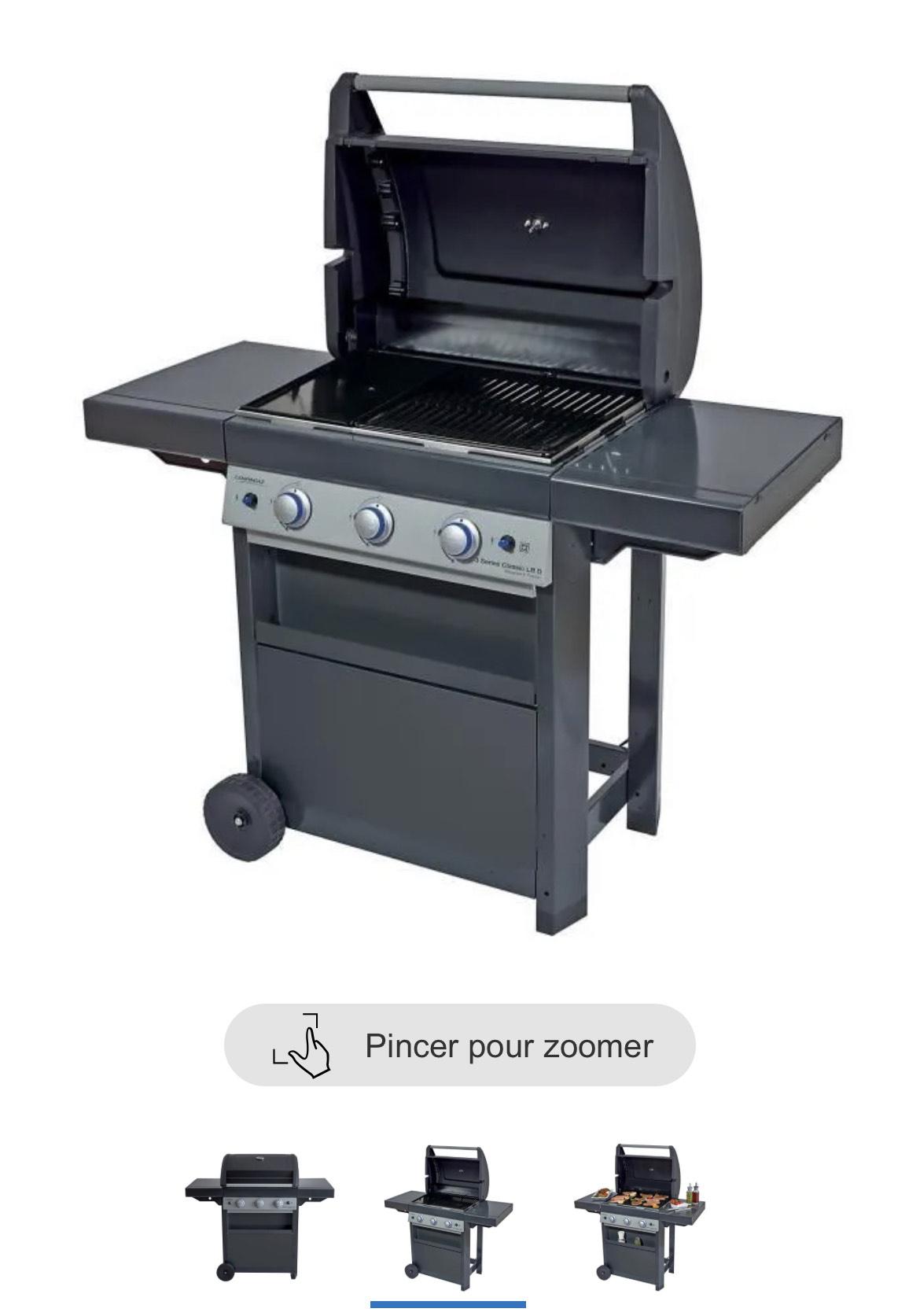 Barbecue à gaz Campingaz Class 3 LBD (Vendeur tiers)