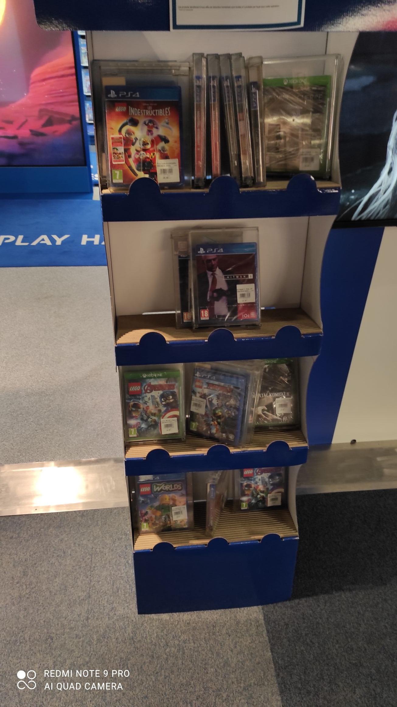 Sélection de jeux PS4 ps5 Xbox one à 15€ - Ex : Hitman 2 (Clichy-sous-Bois 93)