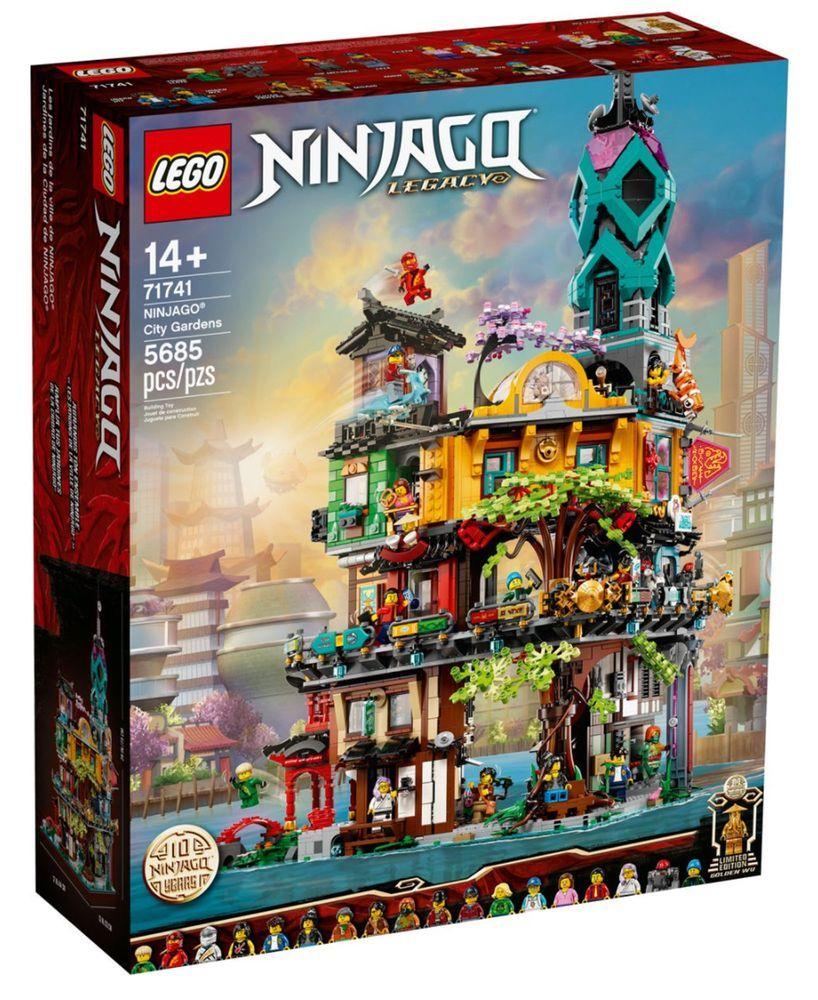 Jouet Lego 71741 Les jardins de la ville de Ninjago (jb-spielwaren.de)