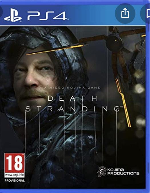 Jeu Death Stranding sur PS4 (vendeur tiers)