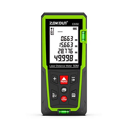 Mètre Laser Zokoun AC-705 - 50m (Vendeur tiers)