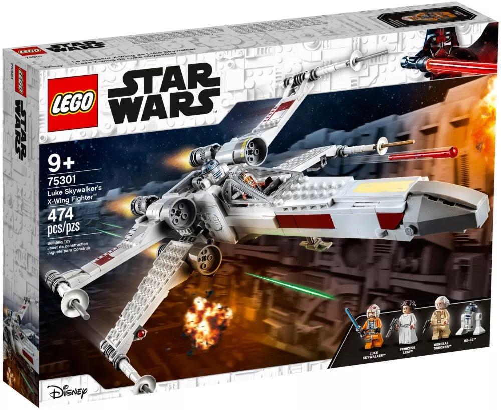 Lego Star Wars - Le X-Wing Fighter de Luke Skywalker - 75301 (via Retrait Magasin)