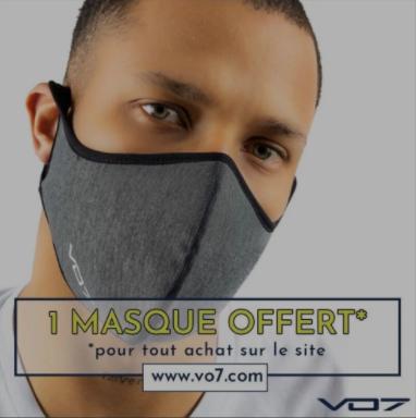 Masque offert pour tout achat (vo7.com)