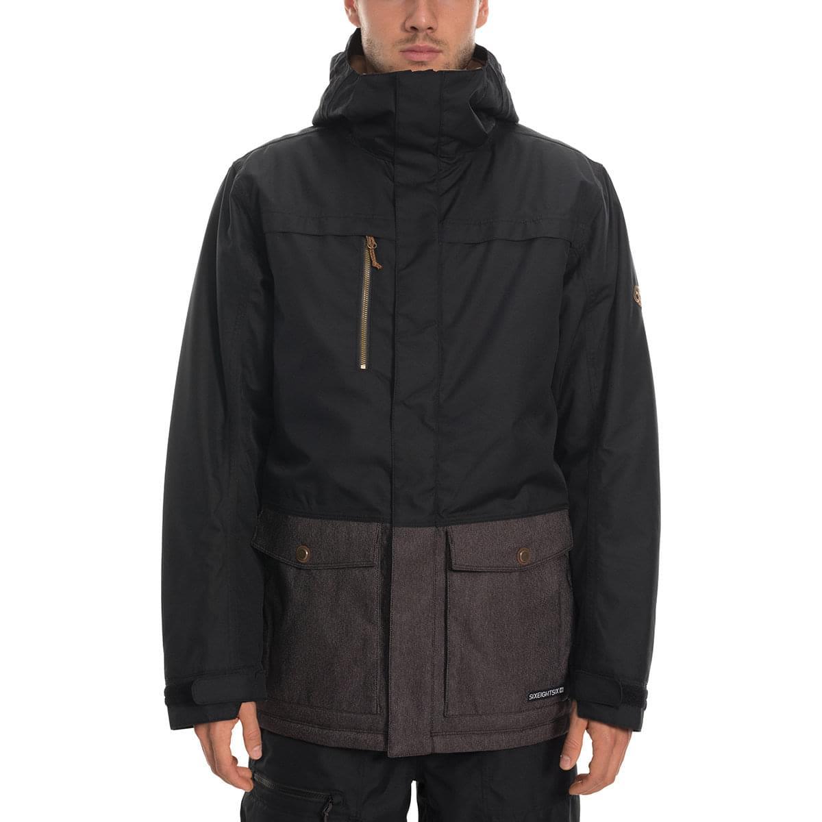 10% de remise supplémentaire sur l'Outdoor - Ex : Veste 686 Mns Anthem Insulated Jacket Black Colorblock 2020