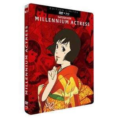 Blu-ray + DVD Millennium Actress Steelbook Edition Limitée