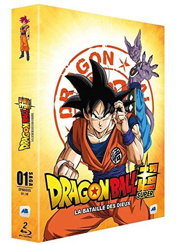 Coffret Blu-ray Dragon Ball Super : Saga 1 - Épisodes 1-18
