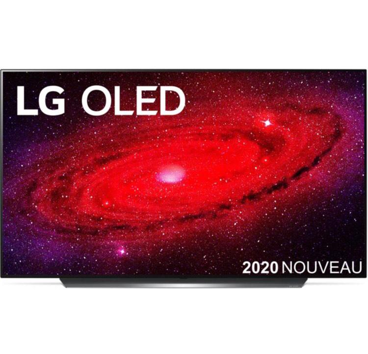 """TV OLED 55"""" LG OLED55CX3 - 4K UHD, HDR 10/HLG, Dolby Vision & Atmos, Smart TV webOS 5.0 (+ Jusqu'à 114€ en RP)"""