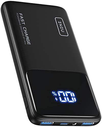 Batterie externe Iniu - 10000mAh, 1 entrée USB Type-C, 2 sorties USB (Via coupon - Vendeur tiers)
