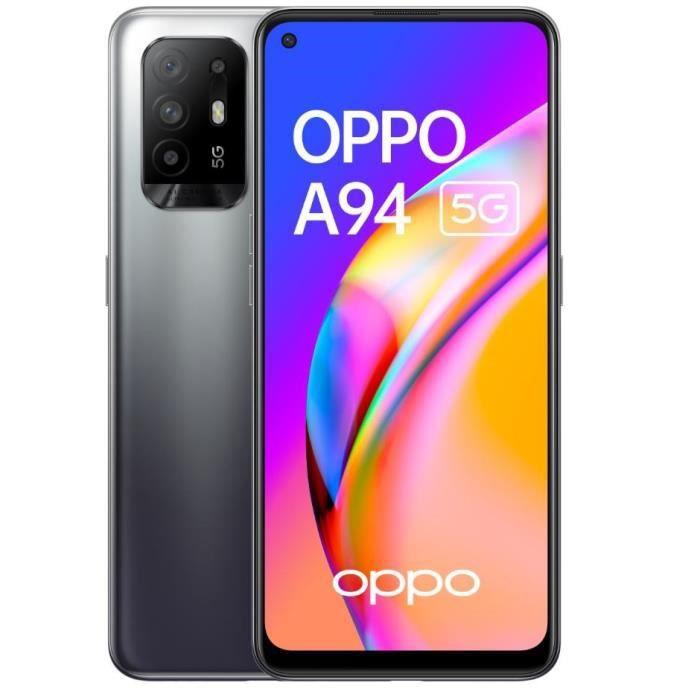"Smartphone 6.4"" Oppo A94 5G - 128Go, 8 Go RAM, 4310 mAh, 30W"
